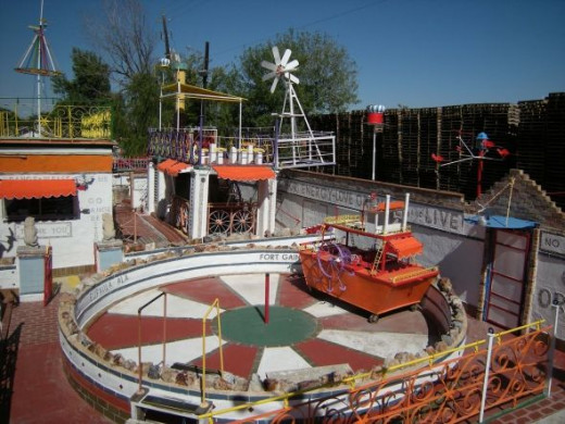 The Orange Show's arena