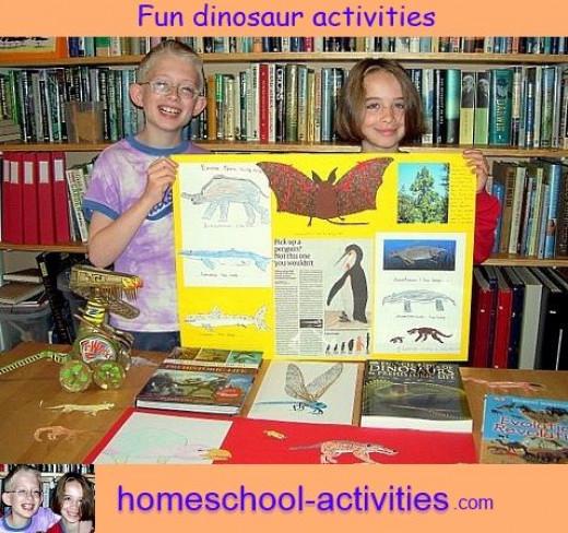 fun kids dinosaur activities