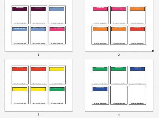 Print Your Own Monopoly Property Cards