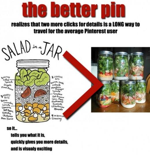 Better Pinterst Pins