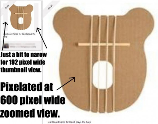 Looking for Cardboard Harps?  Click on the image and it will take you there.