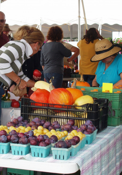 Farmers MarketPhoto courtesy of Bethel Woods Center for the Arts.