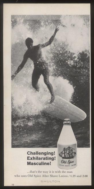 1964 Vintage Old Spice Print Ad