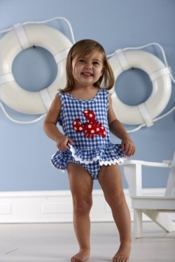 Skirted One Piece Swimsuit for Girls