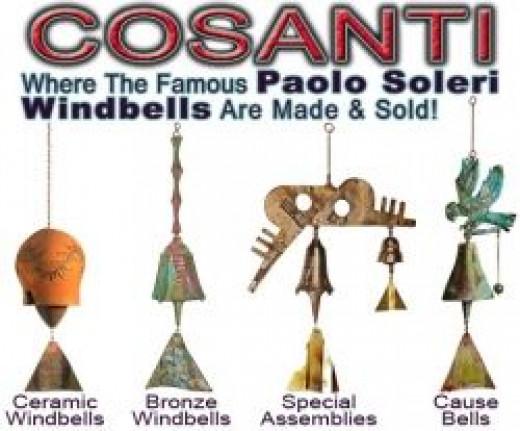 Cosanti bells from Arcosanti