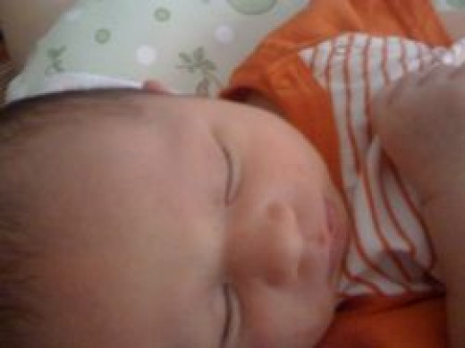 My Son at 1 Week Old