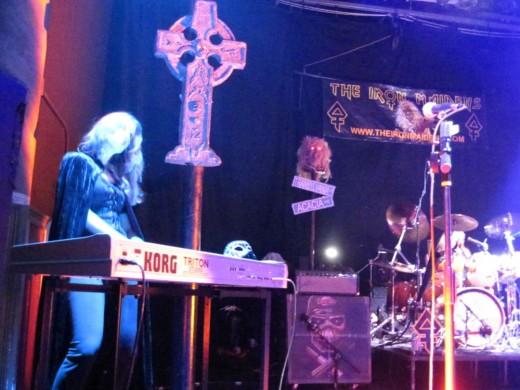 Iron Maidens' Halloween Show Keyboardist