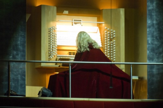 The Phantom Organist of the Opera