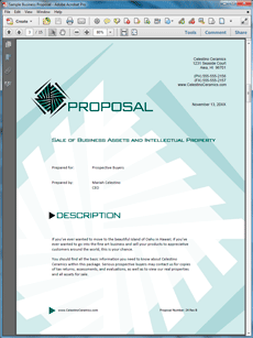 Proposal Kit Technical Design Theme