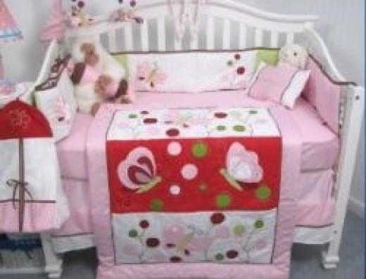 Butterfly Baby Girl Nursery Theme