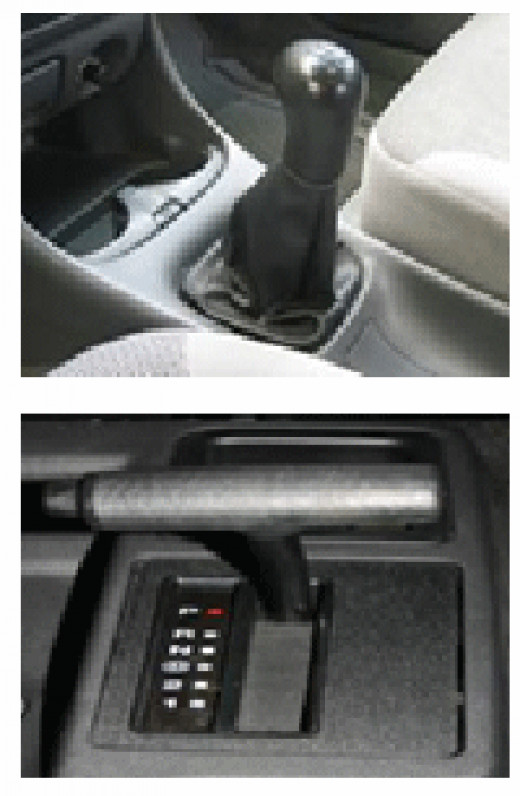 The differences between automatic and manual cars