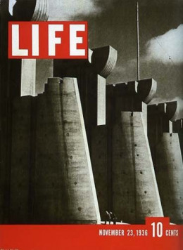 famous female photographers - margaret bourke white - first cover of life magazine