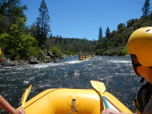It's a beautiful ride down the South Fork of the American River. (Photo by Lisa Howard)