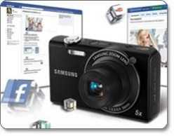 Digital Cameras with Facebook Upload