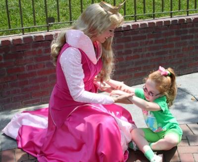 Little Girls Love the Disney Princesses
