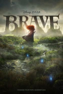 Disney princess Merida Brave movie poster