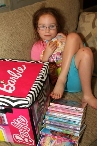 Girls Love Barbie!