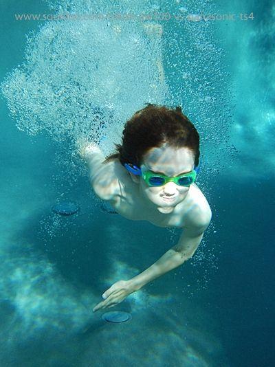 It's great fun in the pool!