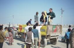 Allahabad Kumbh Mela tree distribution 1989