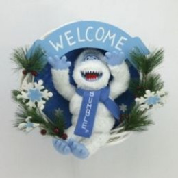 Bumble snowman decorations and toys for Abominable snowman holiday decoration