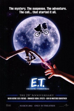 E.T. 20th Anniversary Movie Poster