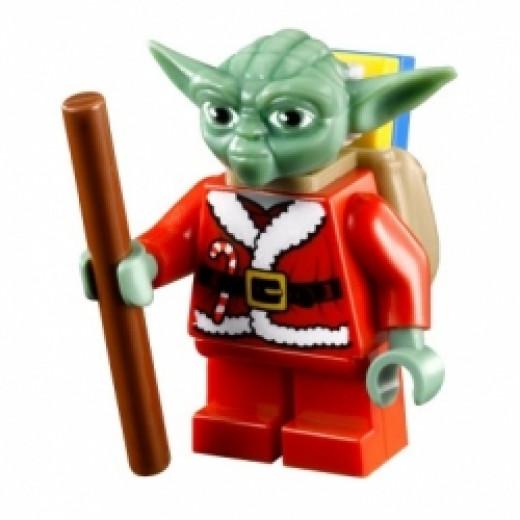 Limited Edition Lego Star Wars Advent Calendar Santa Yoda