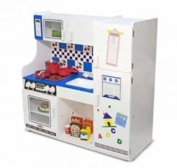 Melissa and Doug wooden kitchen for kids