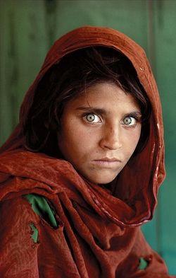 Afghan Girl copyright Steve McCurry