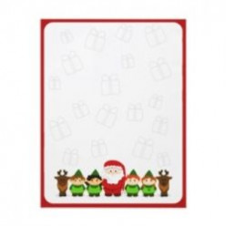 Santa Letter Paper, Envelopes and Stamps