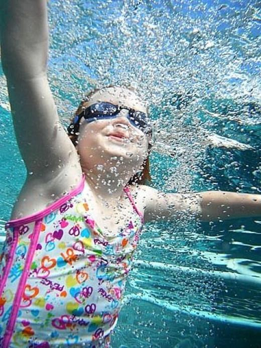 Kids Love Swimming!