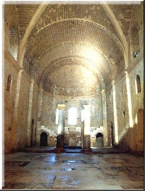 The Church of St. Nicholas--He Was a Bishop in Myra, Turkey