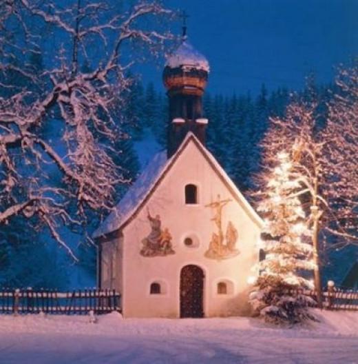 A Tiny Roadside Chapel in Germany