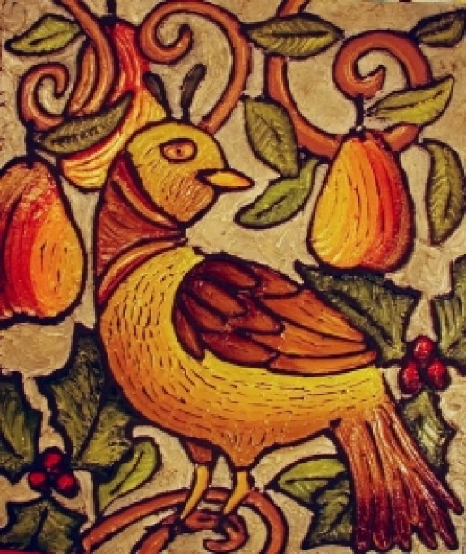 The partridge in a pear tree