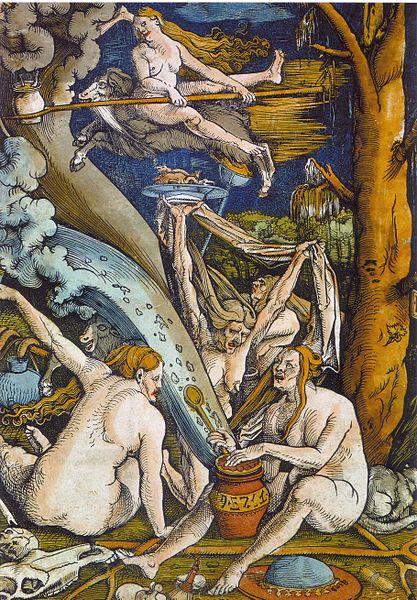 Woodcut by Hans Baldung c.1508.