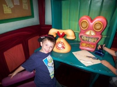 Mickey's and Minnie's House in Toontown