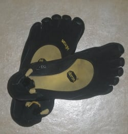 My Husband's Very Dirty and Smelly FiveFingers