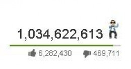 Youtube special view counter for Gangnam Style