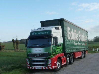 Eddie Stobart Emily Olivia in a Lay By