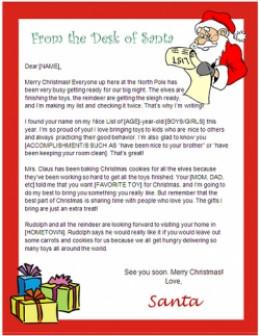 free microsoft christmas letter templates .
