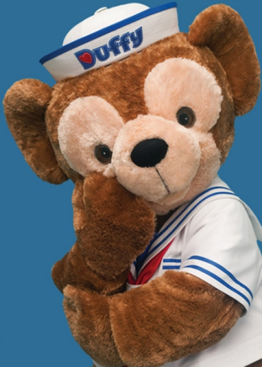 Duffy Bear Now at California Adventure and Epcot