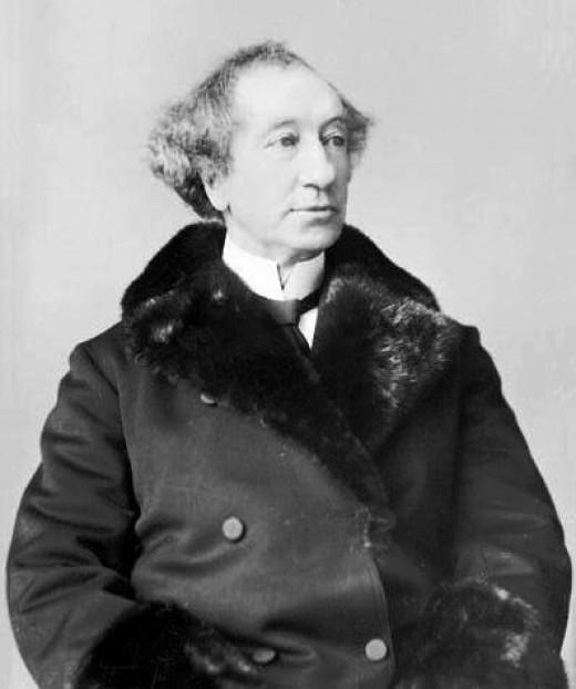 Sir John A. Macdonald, first Prime Minister of Canada