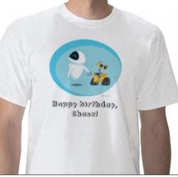 Personalized Disney shirts: WALL-e