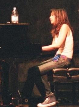 Yuka playing Sean Lennon's Piano Epic
