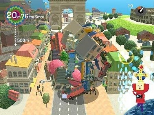 Katamari screenshot