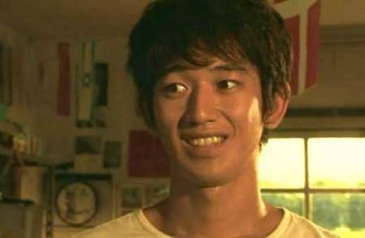 Eita as Takuma Komoto in Summer Time Machine Blues (2005)