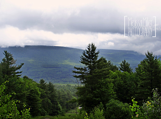 A view of the Vermont Mountain