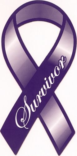 Cancer survivor Ribbon