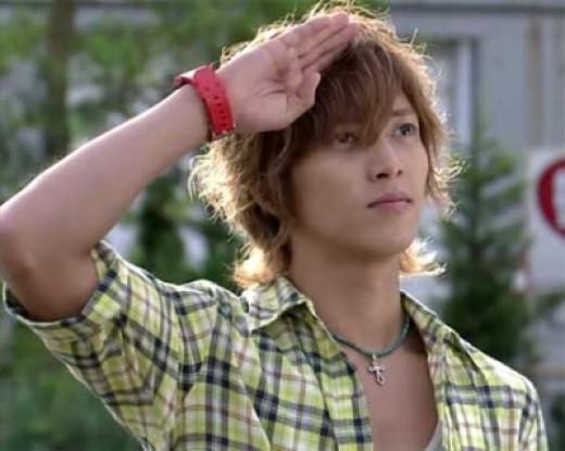 """Yamapi as """"Naoki Kamiya"""" on Buzzer Beat (2009)"""