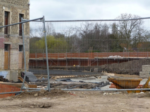 Concrete Foundations finally laid Old Gaol Redevelopment