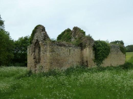 James Church Bix Bottom Abandoned in 1875